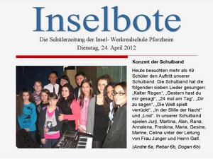 Ausgabe vom 24, April 2012