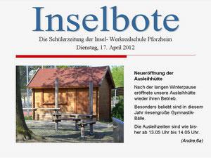 Ausgabe vom 17. April 2012