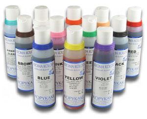 Colorantes para aerografía
