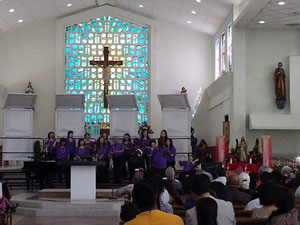 YCC Gospel Choir in Guam