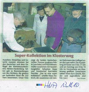 HNA Artikel GS 13./14.11.2010