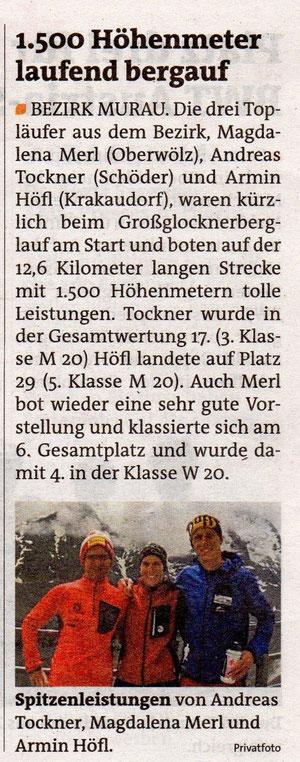 Murtaler Zeitung 24.07.2014