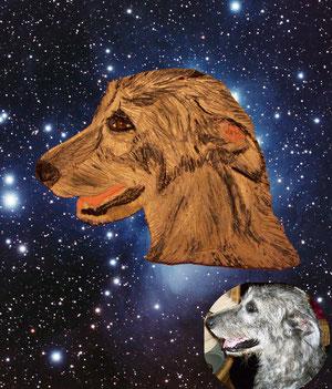 Kerami-Art - Anna - Irish Wolfhound