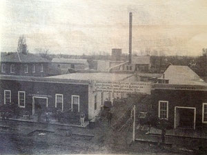 The William Wichers Company stood on east Main, on a site now occupied by Cityside Middle School.