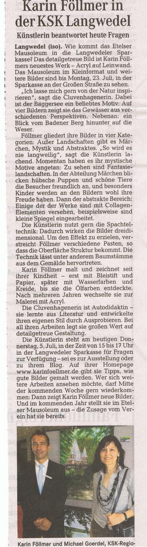 5. Juli 2012   Weser Kurier