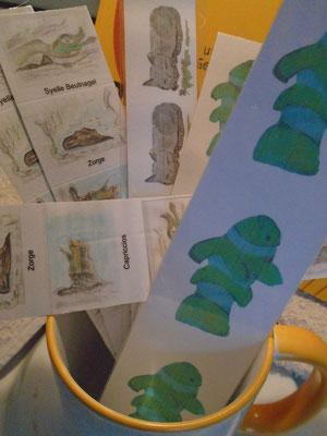Lesezeichen im Online-Shop Kunst und Kaffeetassen von Syelle Beutnagel