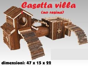 Casetta in legno (NO RESINA)