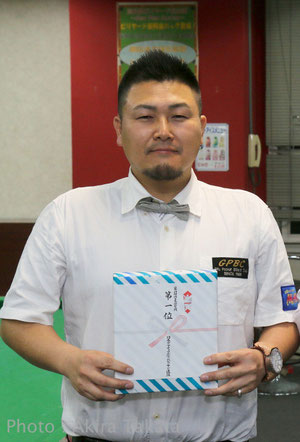 2015西球聖A勝者:木村隼人