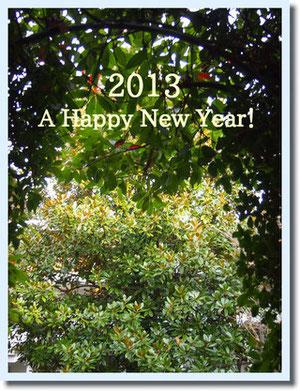 新居より新年のご挨拶♪^^
