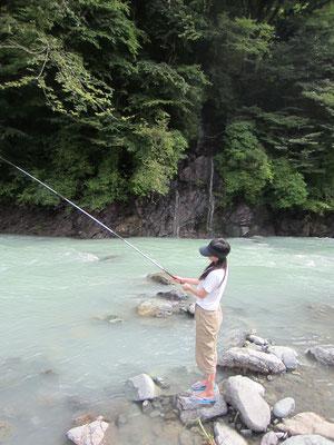 釣りもひさしぶり つれませんでした(笑)