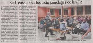 Le Dauphiné libéré - 23 janvier 2011