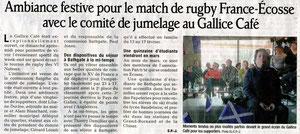 Le Dauphiné Libéré - 29 février 2012