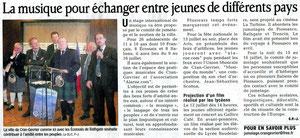 Le Dauphiné Libéré - 25 juin 2011