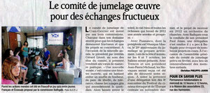 Le Dauphiné Libéré - 8 janvier 2012