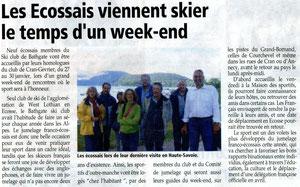 L'Essor Savoyard - 26 janvier 2012