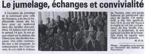 L'Essor Savoyard - 15 juin 2008