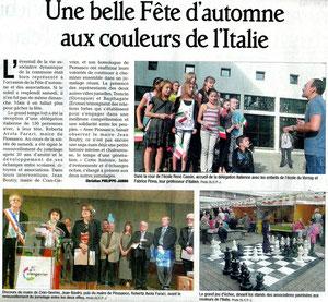 Le Dauphiné Libéré - 8 octobre 2012