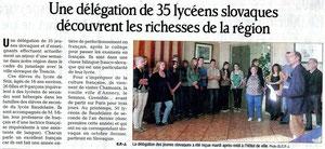 Le Dauphiné Libéré - 25 octobre 2012