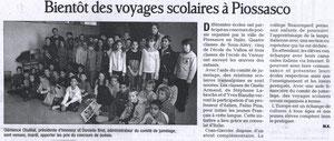 Le Dauphiné Libéré - 9 janvier 2008