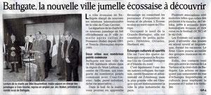 Le Dauphiné Libéré - 2 avril 2010