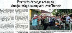 Le Dauphiné Libéré - 22 août 2012