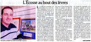 La Dauphiné Libéré - 17 avril 2013