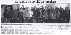 Le Dauphiné Libéré - 15 avril 2008