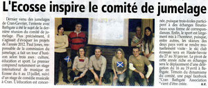 L'Essor Savoyard - 5 janvier 2012