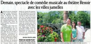 Le Dauphiné Libéré - 16 juillet 2012