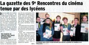 Le Dauphiné Libéré - 26 novembre 2013