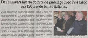Le Dauphiné Libéré - 4 avril 2011