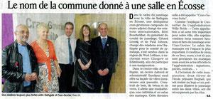 Le Dauphiné Libéré - 16 novembre 2011