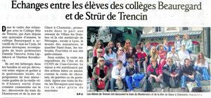 Le Dauphiné Libéré - 14 juin 2013