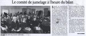 Le Dauphiné Libéré - 29 janvier 2008