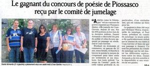 Le Dauphiné Libéré - 28 août 2012