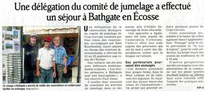 Le Dauphiné Libéré - 7 novembre 2011