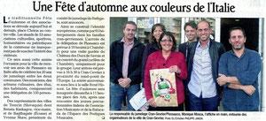 Le Dauphiné Libéré - 6 octobre 2012