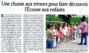 Le Dauphiné Libéré - 12 juin 2013