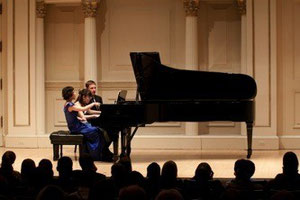 photo par Rocco Marcelli au Carnegie hall à N.Y