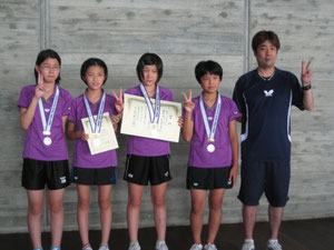 第29回全日本クラブ選手権(青森) 準優勝