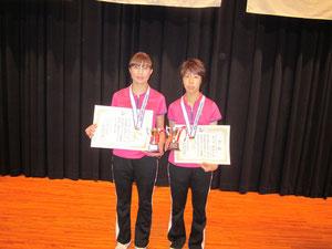 全国レディース卓球大会(沖縄) 優勝