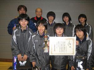 第32回徳山オープン卓球大会伊藤杯 優勝