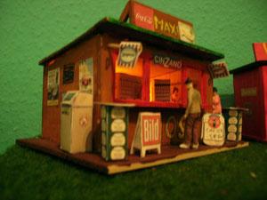 Mein Kiosk aus Holz