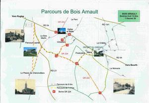 Bois Arnault (à 8kms)