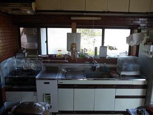 改修前の台所