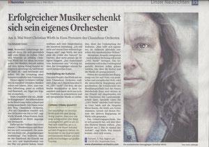 OÖ. Nachrichten, 2.5.2013