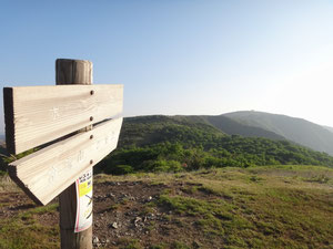 蓬莱山まで見通しはバツグン