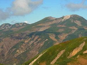 別山山頂から白山本峰アップ