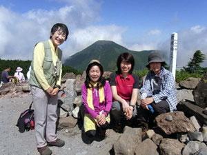 横岳北峰(2,480m)にて