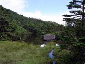 七ツ池、1湖